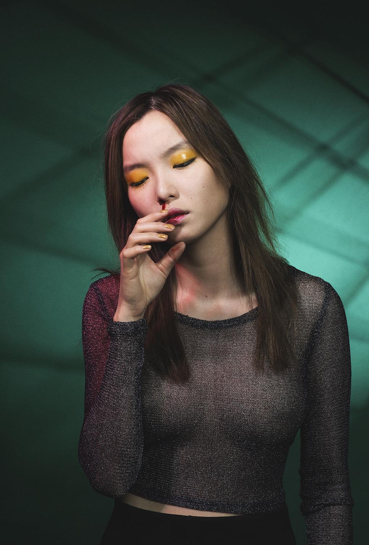 Photo : Lisa Boostani / Modèle : Moon Kyu Lee